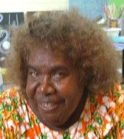 Ethel Thomas - Mornington Island Artist - Ancient Journeys Gallery