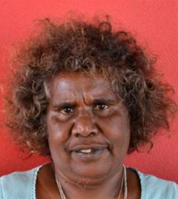 Helena Gabori - Mornington Island Artist - Ancient Journeys Gallery