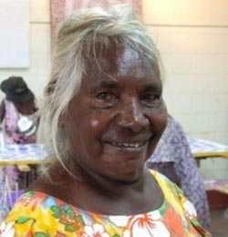 Netta Loogatha - Mornington Island Artist - Ancient Journeys Gallery
